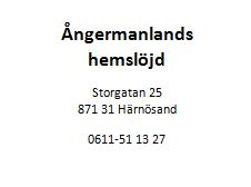 angermanlandshemslojd